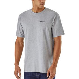 Patagonia Line Logo Badge - T-shirt manches courtes Homme - gris